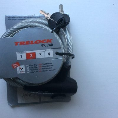 Trelock 1.8m cable lock