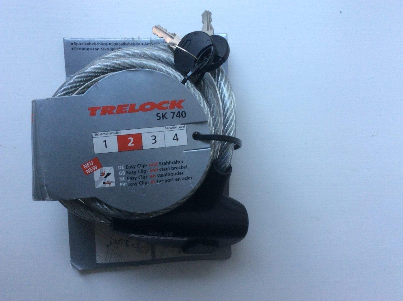 Trelock 1.8m cable lock