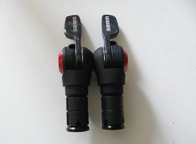 SRAM TT500 Bar End Shifters